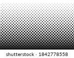 vertical gradient halftone dots ... | Shutterstock .eps vector #1842778558