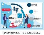 vector website design template ....   Shutterstock .eps vector #1842802162