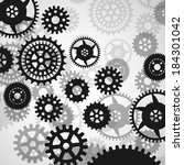 gears | Shutterstock .eps vector #184301042