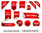vector tags of sales  discounts.... | Shutterstock .eps vector #1843019692