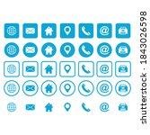 web icon set vector symbol