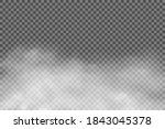 white fog texture isolated on... | Shutterstock .eps vector #1843045378