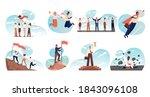 business  teamwork  success ...   Shutterstock .eps vector #1843096108