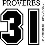 Proverbs 31  Bible Verse Design ...