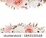 wedding invite  floral greeting ... | Shutterstock .eps vector #1843120168