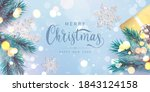 merry christmas and happy new...   Shutterstock .eps vector #1843124158