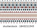 ethnic vector seamless pattern. ...   Shutterstock .eps vector #1843211545