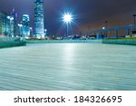square with night modern... | Shutterstock . vector #184326695