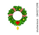 vector graphic illustration on... | Shutterstock .eps vector #1843271398