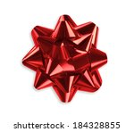 red bow | Shutterstock . vector #184328855