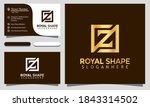 initial letter z royal shape... | Shutterstock .eps vector #1843314502