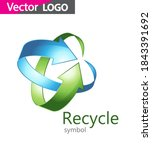 recycle icon logo for your...   Shutterstock .eps vector #1843391692