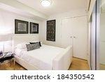 modern bedroom interior design... | Shutterstock . vector #184350542