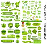 ecology icons collection | Shutterstock .eps vector #184357922