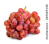 ripe juicy grape isolated on... | Shutterstock . vector #184369148