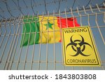 Coronavirus Warning Sign On Th...