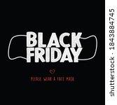 black friday shopping concept.... | Shutterstock .eps vector #1843884745