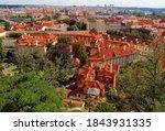 Prague Panoramic View On Mala...