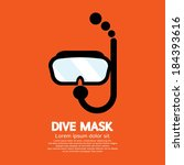 Dive Mask Vector Illustration