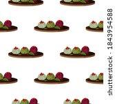 popular georgian dish pkhali... | Shutterstock .eps vector #1843954588