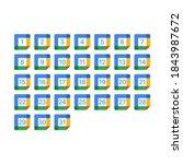 google calendar. all days...