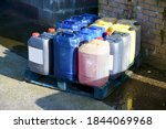 Oil Barrel Plastic Canisters...