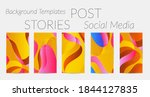 abstract vector instagram... | Shutterstock .eps vector #1844127835