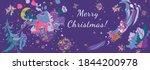 new year's extravaganza. santa... | Shutterstock .eps vector #1844200978