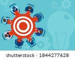 vector of business people... | Shutterstock .eps vector #1844277628