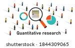quantitative research method... | Shutterstock .eps vector #1844309065