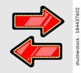 bright arrow | Shutterstock .eps vector #184437602