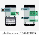 smart phones chatting sms...