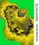 Flowery Shapes  Design  Fractal ...