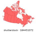 canada | Shutterstock .eps vector #184451072