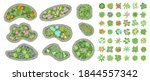vector set. flowers and flower... | Shutterstock .eps vector #1844557342