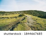 Landscape Of A Field With A...