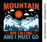 hiking quotes and 100  vector...   Shutterstock .eps vector #1844685352