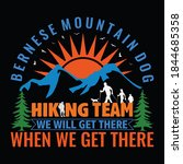 hiking quotes and 100  vector... | Shutterstock .eps vector #1844685358