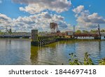 An Old Bascule Railroad Bridge...