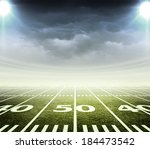 light of stadium | Shutterstock . vector #184473542