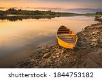Boats In The Calm Waters Of The ...