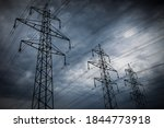 High Voltage Power Lines....