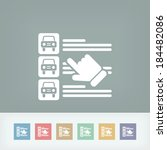 car list selection | Shutterstock .eps vector #184482086