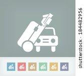 car travel | Shutterstock .eps vector #184482956