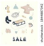 Winter Sale. Delicate...