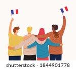 we love france banner. back... | Shutterstock .eps vector #1844901778