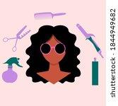 hispanik latino american women. ...   Shutterstock .eps vector #1844949682