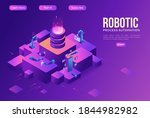 robotic process automation... | Shutterstock .eps vector #1844982982