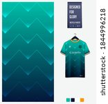 fabric pattern design.... | Shutterstock .eps vector #1844996218