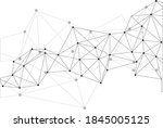 abstract polygon pattern vector ... | Shutterstock .eps vector #1845005125